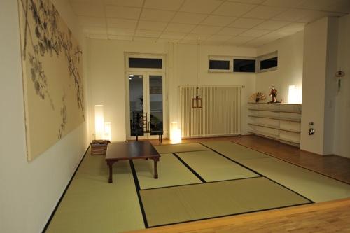 Tatami Raum im Dojo Köln