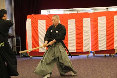 Paris Iaido Mugai Ryu Kenjutsu Vorführung