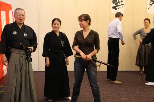 Paris Iaido Mugai Ryu Kenjutsu