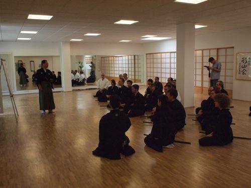 Schwertkampf Seminar in Köln Mugai Ryu Iaido & Kenjutsu