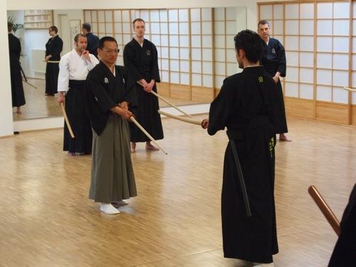 Kenjutsu Seminar Köln - Kumitachi mit Niina Gosoke