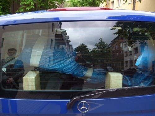 Paris Fahrt - vollgepackt