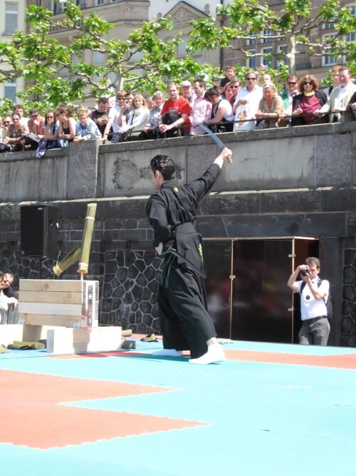 Tameshigiri Samurai Japantag 2010 Düsseldorf