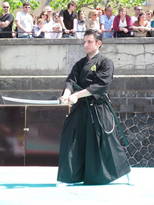 Iaido Samurai Kata - Japantag 2010 Düsseldorf