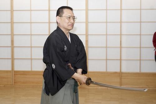 Niina Gosoke - Mugai Ryu Iaido Grossmeister