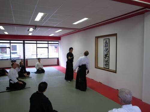Mugai Ryu Iaido Seminar in Holland