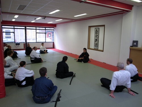 Mugai Ryu Kenjutsu Seminar in Holland