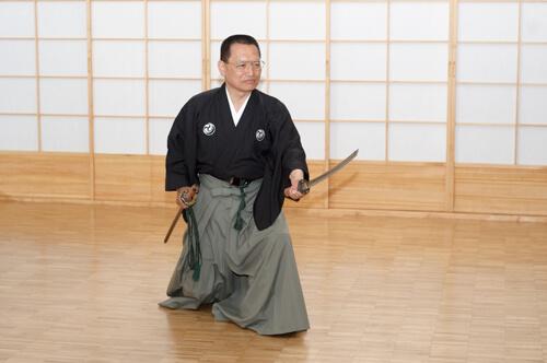 Gyokushin Shinto Ryu - Niina Soke