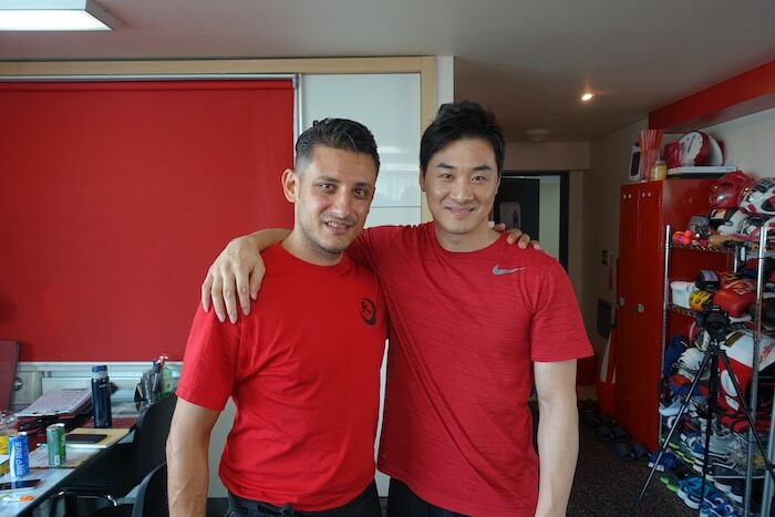 DK Yoo and Luciano