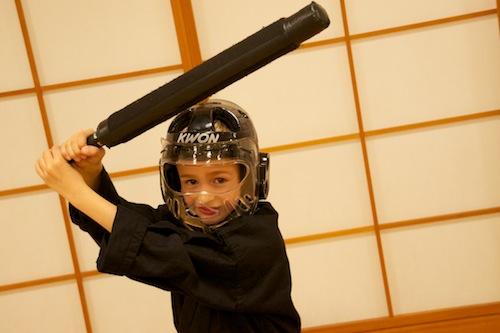 Asiatische Kampfsportarten Kampf zwischen Kunst