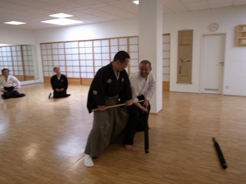 Tosei Ryu - Stockkampf Seminar in Köln