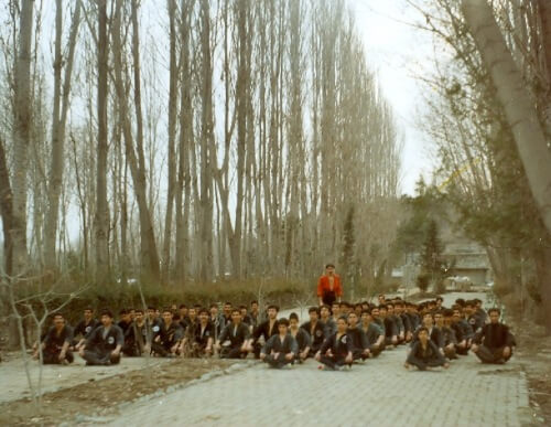 Ostad Sarafnia im Iran