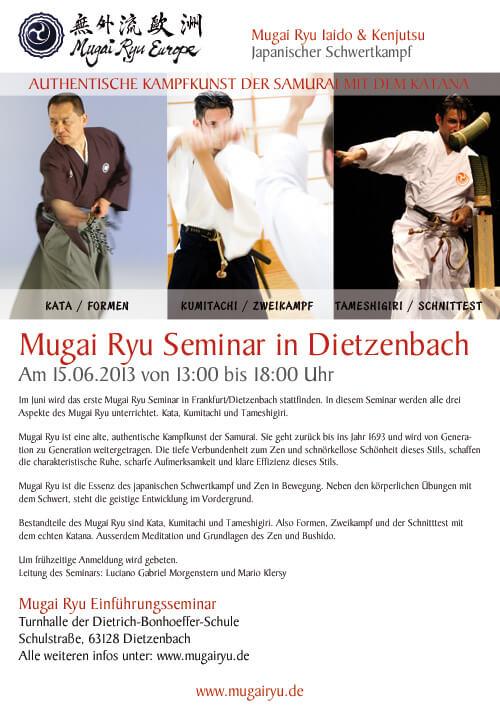 Mugai Ryu Frankfurt
