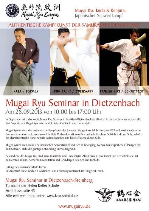 Mugai Ryu Frankfurt / Dietzenbach