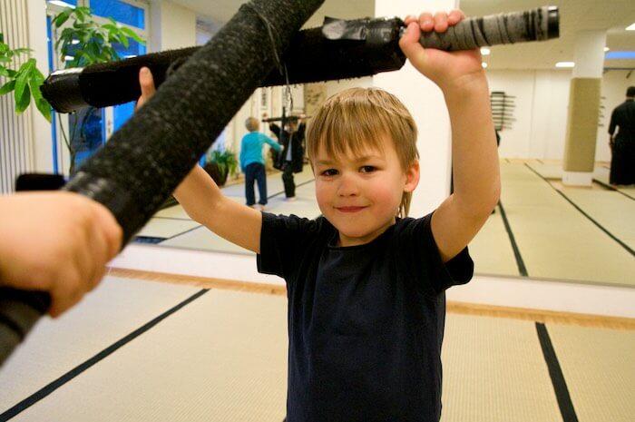 Kampfkunst für Kinder in Hamburg Nito Ryu Kenjutsu - Kampfkunstschule in Hamburg